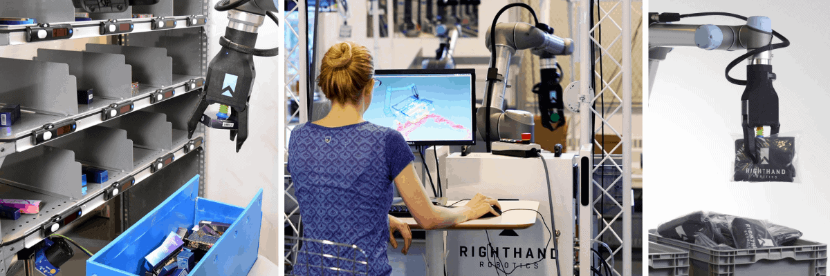 RightHand Robotics Boston Startup