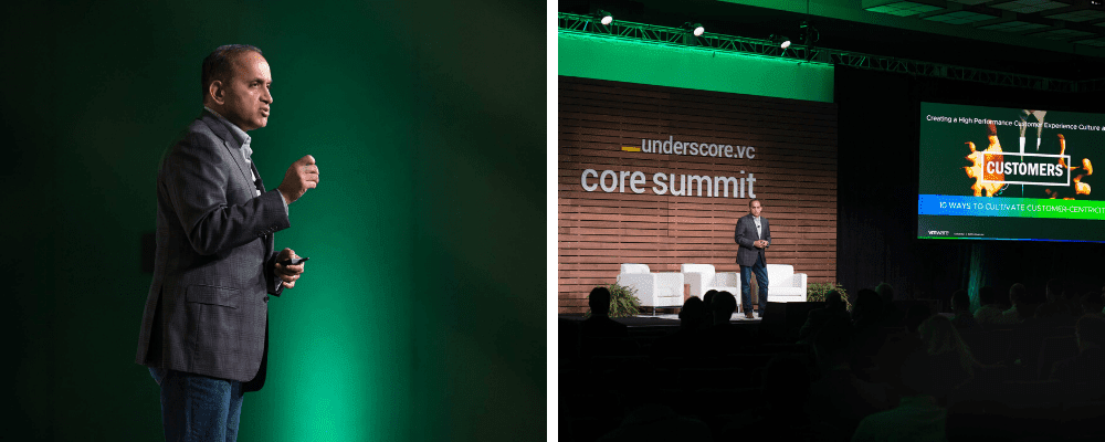 Sanjay Poonen at Core Summit
