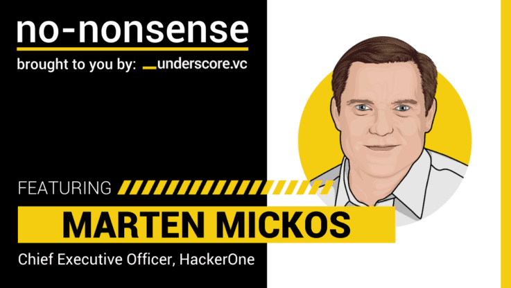 Marten Mickos, CEO of HackerOne