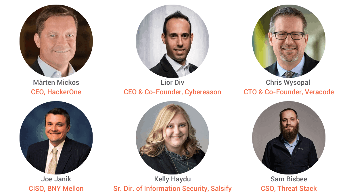 Security for Startups: 6 Cybersecurity Experts Weigh-in - Here They Are Pictured