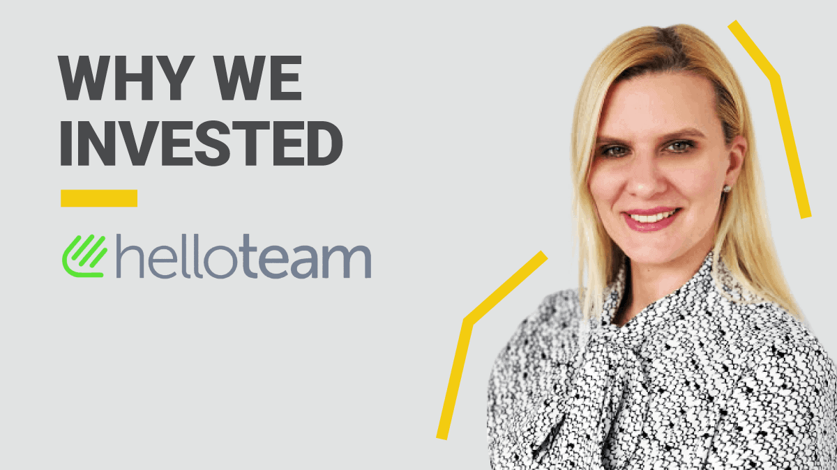 HelloTeam Founder: Why We Invested