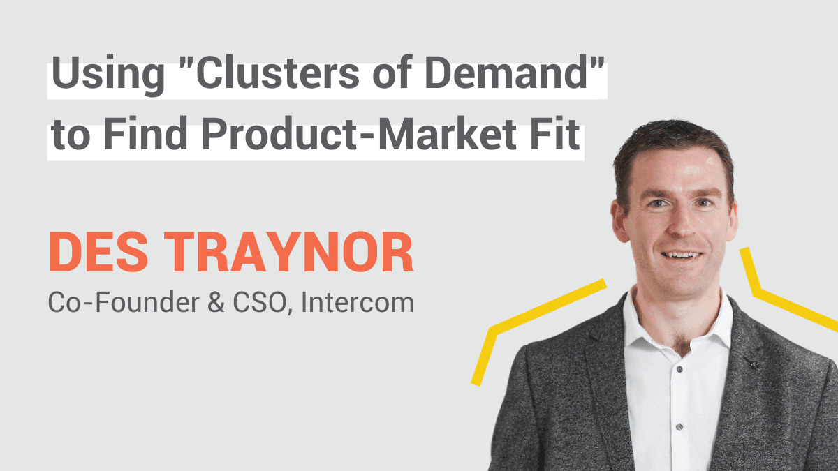Intercom Product Market Fit