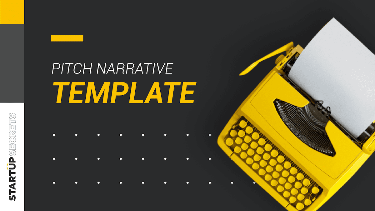 Writing Your Pitch Narrative Preview