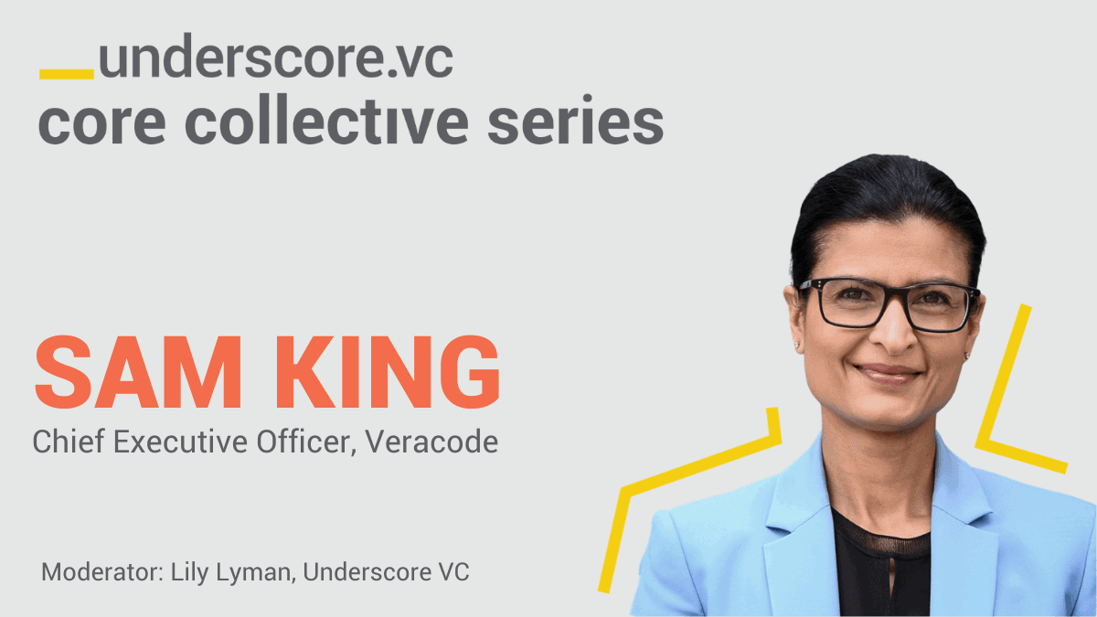 Sam King, CEO Veracode